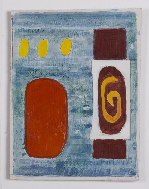 John Piper, 'Design for the North Thames Gas Board glass fibre panels 4', 1962, The Fine Art Society