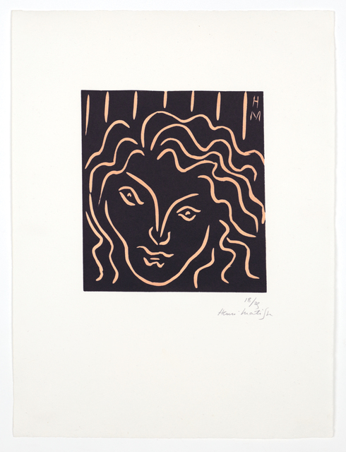 , 'Tête de femme en mascaron,' 1938, Bernard Jacobson Gallery