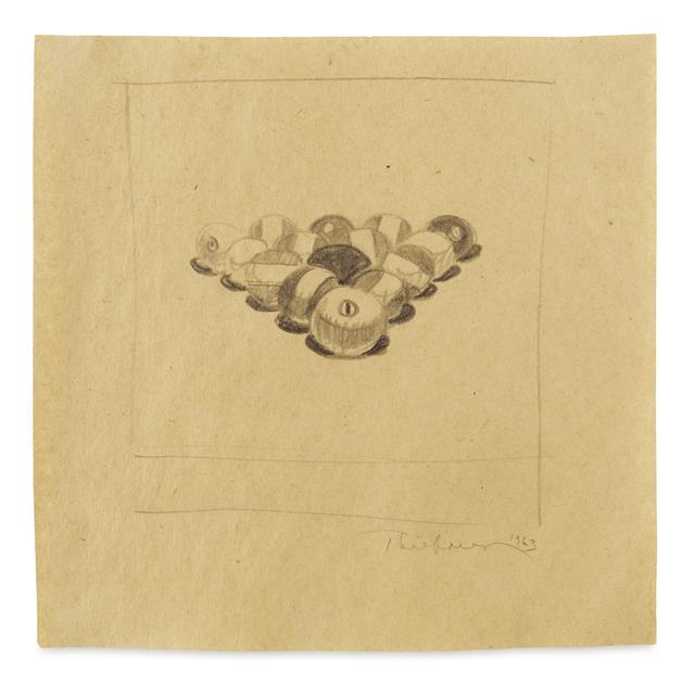 , 'Billiard Balls #2,' 1963, James Barron Art