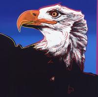 "Andy Warhol, Bald Eagle from ""Endangered Species"" portfolio"