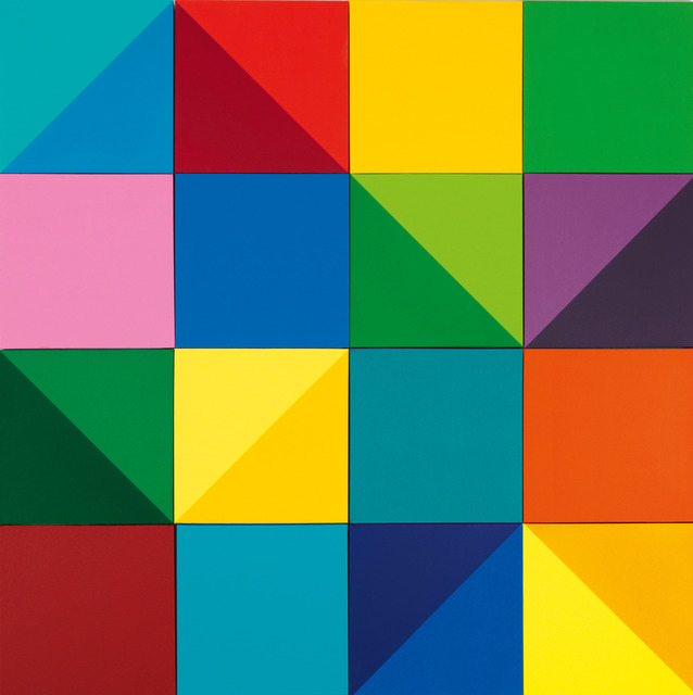 Peter Kalkhof, 'Colour and Space', 2008, Annely Juda Fine Art