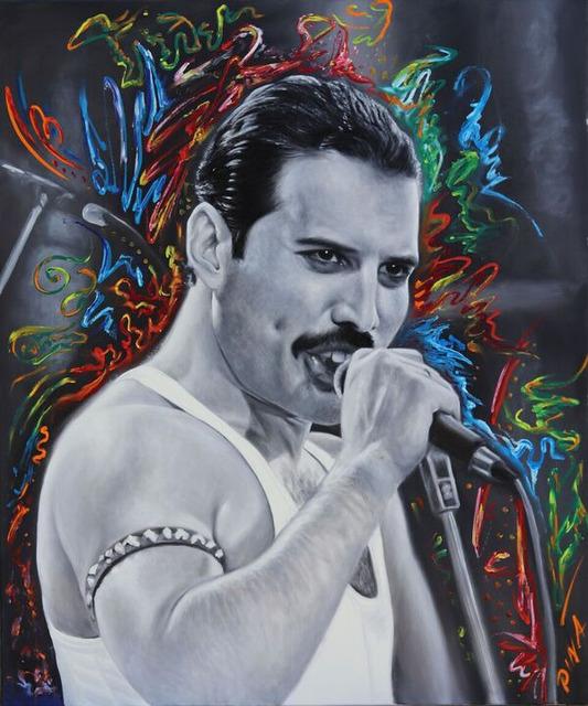 Freddie Mercury Art Painting