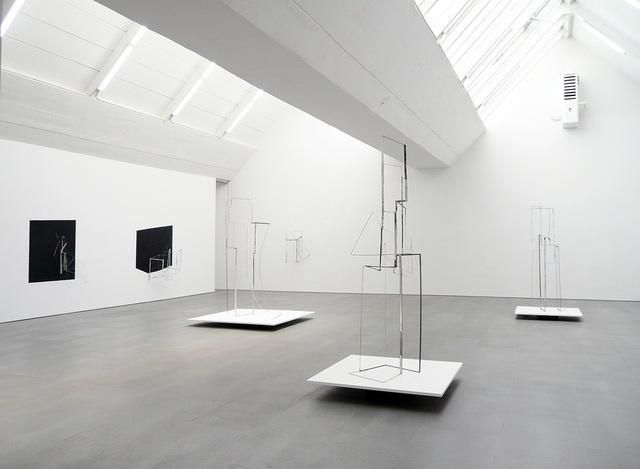 , 'I become almost a shadow - exhibition view at carlier | gebauer,' 2014, carlier | gebauer