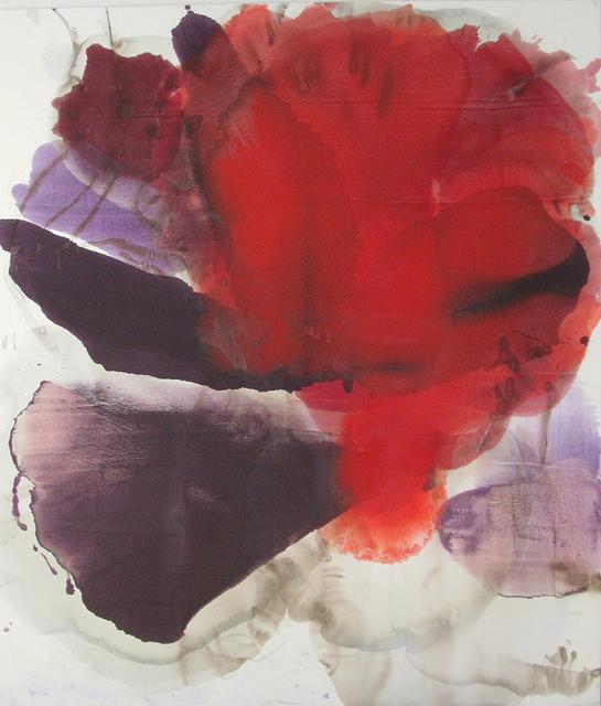 , '(Liquid Flower) Vermillion,' 2015, Lanoue Gallery