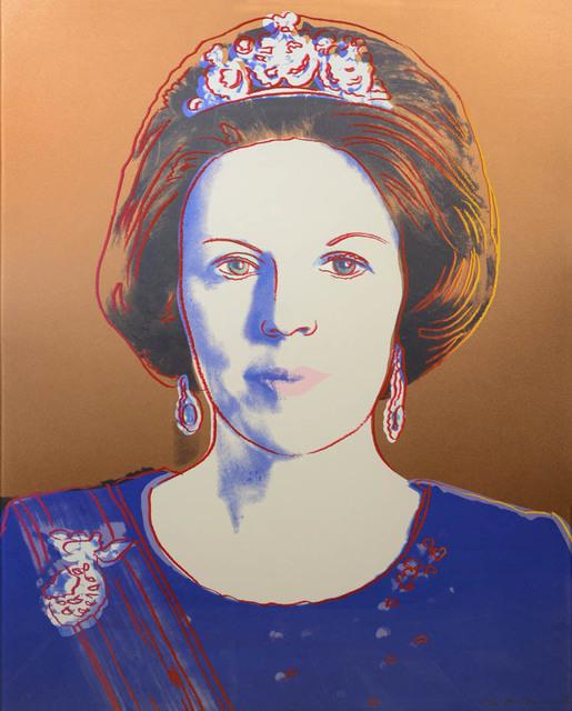 Andy Warhol, 'Queen Beatrix of the Netherlands', 1985, Print, Silkscreen in colours, Shapero Modern