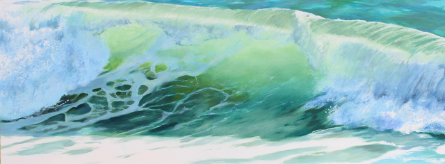 , 'Green Wave,' 2104, Sue Greenwood Fine Art