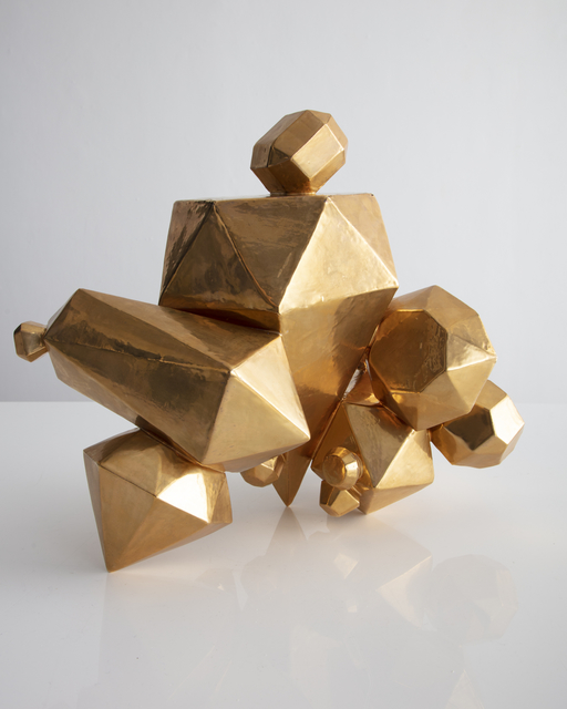 Kelly Lamb, 'Unique Gem Cluster in ceramic with a gold glaze', 2018, R & Company