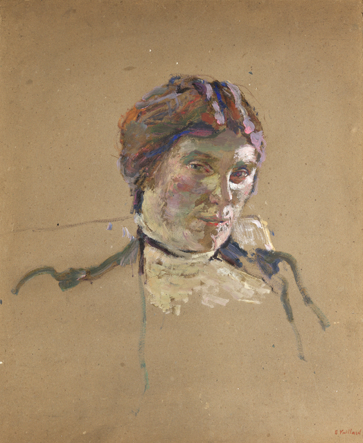 Édouard Vuillard, 'Suzanne Desprès', ca. 1908, Painting, Oil on paperboard, Jill Newhouse Gallery