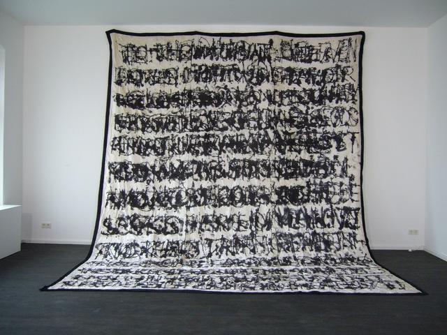 , 'Three Texts,' 2009, Nature Morte