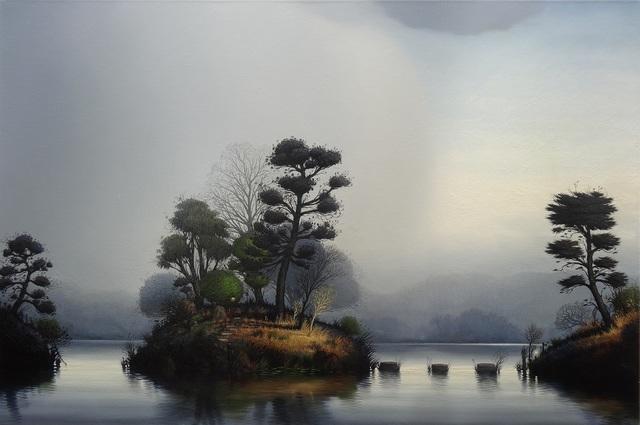 , 'The arbitrator's island,' 2015, Martin Browne Contemporary