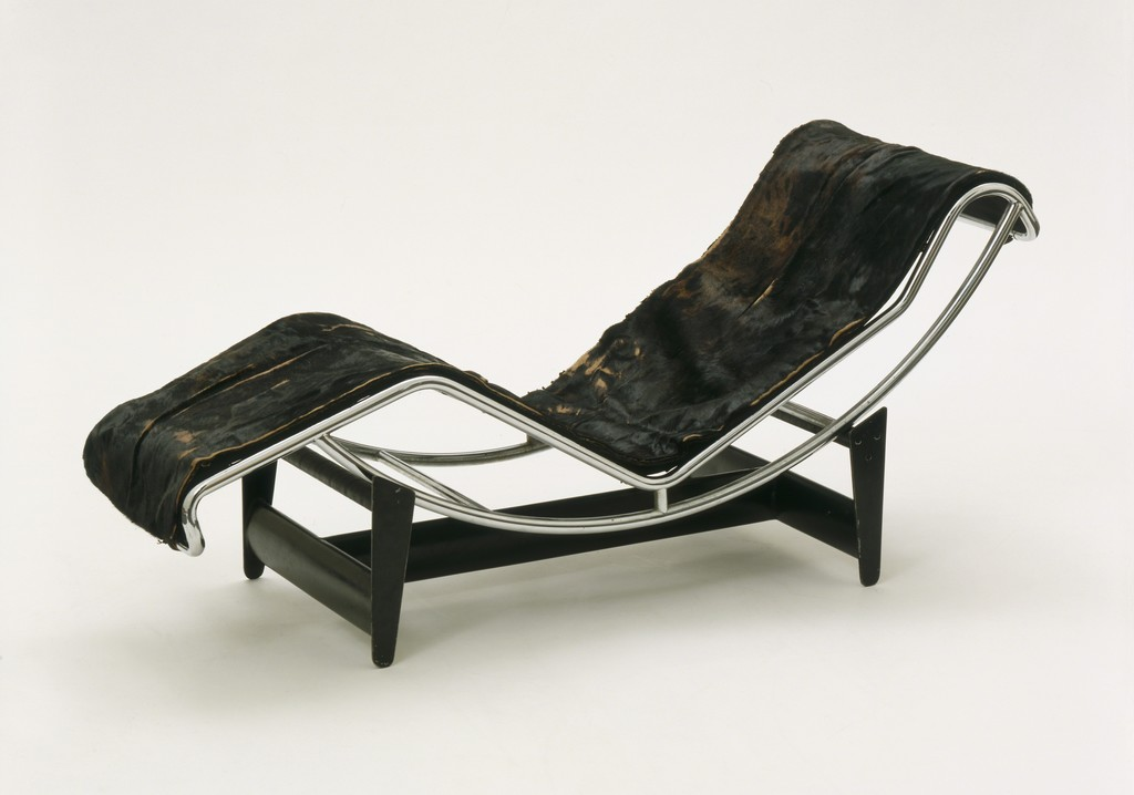 douard pierre le charlotte corbusier chaise lc perriand jeanneret longue collection charles works