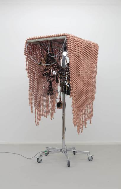 , 'Sonic Fabric over Copper Plated Web,' 2014, Kukje Gallery