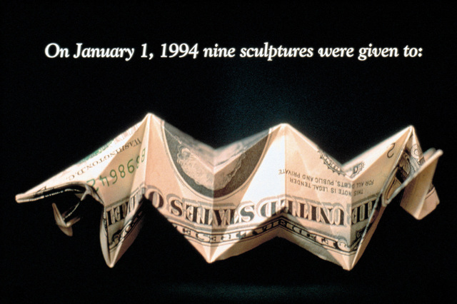 , 'Money For Art #1-5,' 1994, DHC/ART