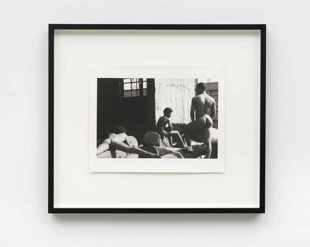 , 'The Piers (three men on dock),' 1975-1986, PPC Philipp Pflug Contemporary