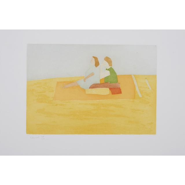 Alex Katz, 'Flying Carpet (Small Cuts)', 2008, Weng Contemporary