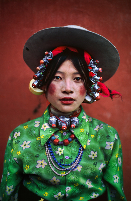 , 'WOMAN AT A HORSE FESTIVAL, TAGONG, TIBET, 1999,' 1999, Huxley-Parlour
