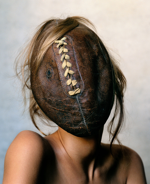 , 'Football Face, New York,' 2002, Pace/MacGill Gallery