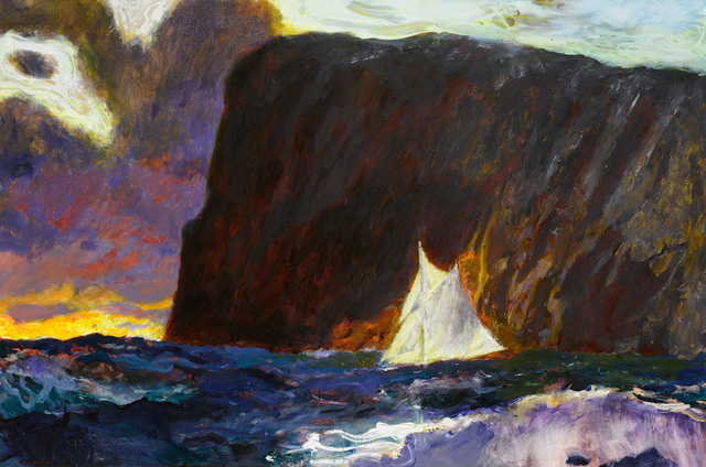 , 'And Rockwell Kent Sails On,' 2017, Adelson Galleries