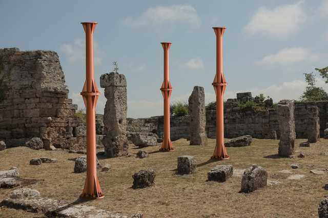 , 'Ruins and Pillars,' 2016, Manfredi Style