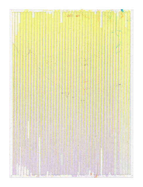 , 'Lonely Planet (Yellow Chartreuse / Grey Lavender),' 2016-2017, Gavlak