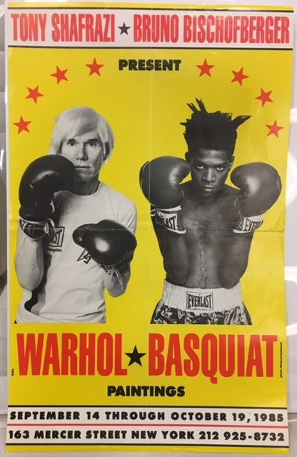 , 'Basquiat x Warhol Collaboration on Mercer Street,' 1985, GALLERY SHCHUKIN