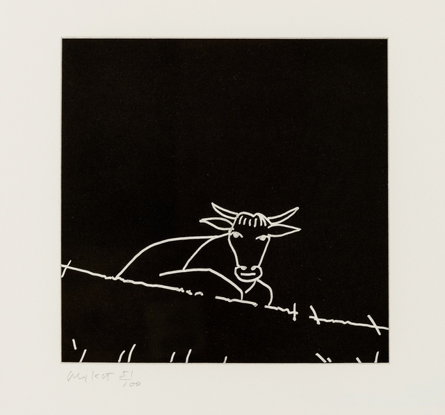 Alex Katz, 'Untitled (Cow)', 2005, Forum Auctions