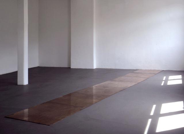 , '7 Cu Slant 40,' 1990, Konrad Fischer Galerie