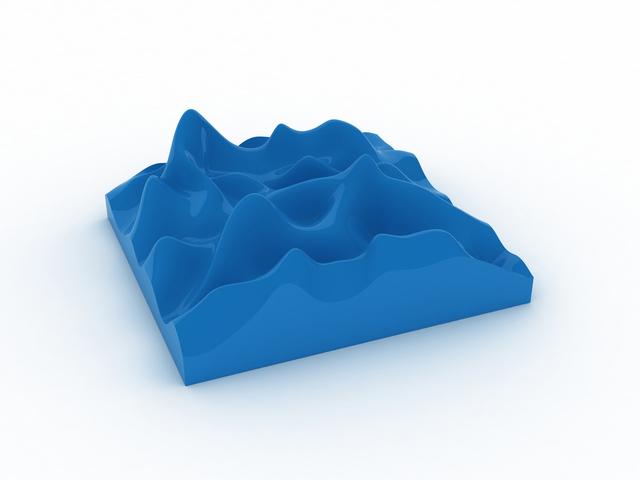 , 'Unknown Pleasure, Sky Blue ,' 2012, Paul Stolper Gallery