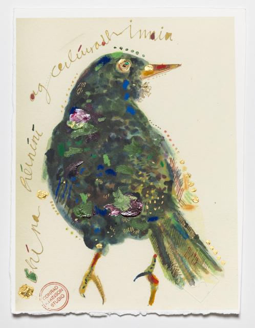 , 'Today I heard the blackbird sing,' 2014, Ronald Feldman Fine Arts