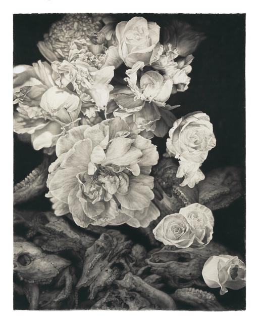 , 'White Flowers & Bones,' 2015, Von Lintel Gallery
