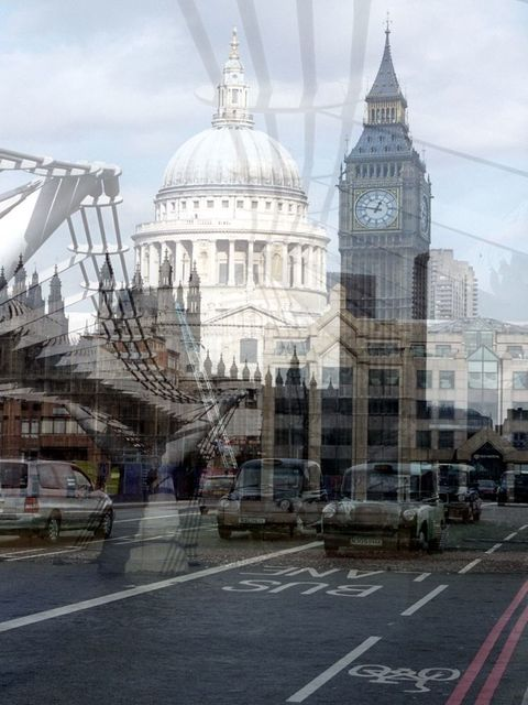 , 'My own Rave. Londra (Bus Lane + Torre dell'Orologio),' , Anna Marra Contemporanea