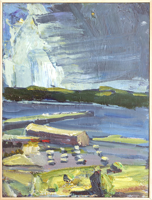 , 'Looking Across the Straits,' 2010, Dolby Chadwick Gallery