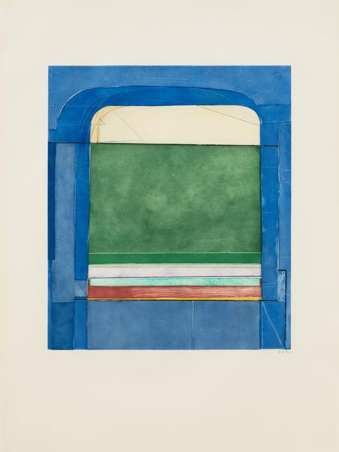 , 'Blue Surround,' 1982, Susan Sheehan Gallery
