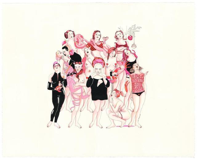 , 'Les Rêves Roses II,' 2018, Hang-Up Gallery