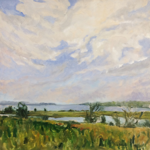 , 'View From Latham's,' , The South Street Gallery