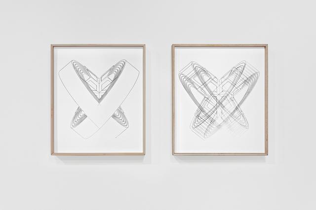 , 'Sculpture portée N°10 (diptyque),' 2016, Espace Meyer Zafra