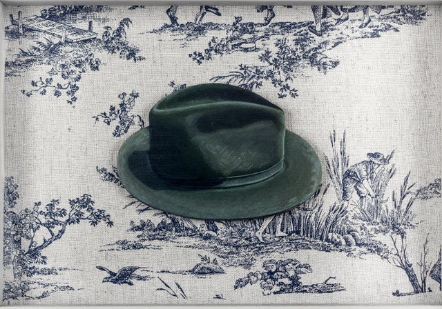 Elsa Zambrano, 'Hat, ed. of 70', 2014, Print, Silkscreen and industrial cloth, Beatriz Esguerra Art