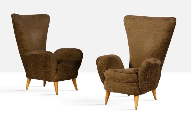 Emilio Sala, 'Pair of lounge chairs', circa 1950, Aguttes