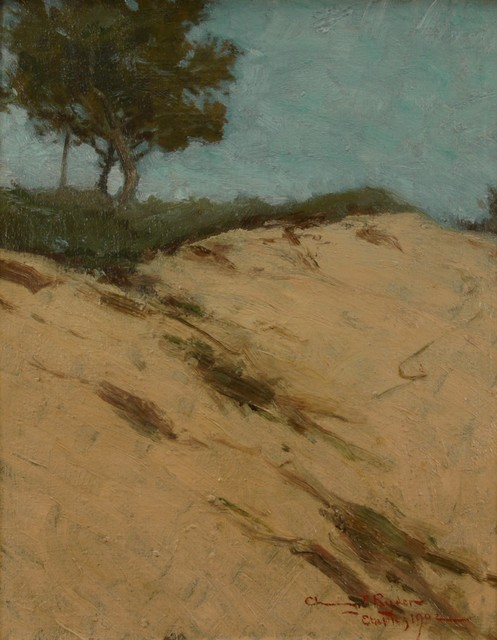 Chauncey Ryder, 'Etaples', 1902, Painting, Oil on canvas, Private Collection, NY
