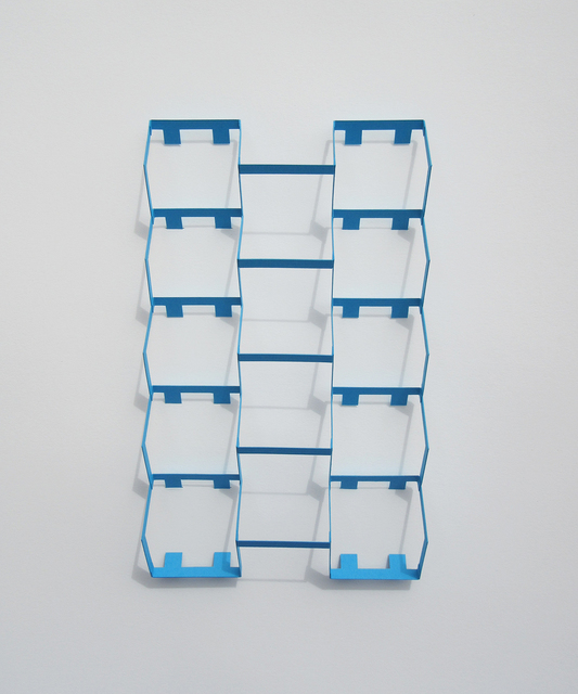 , 'Cyan Blue Tooth,' 2018, Richard Levy Gallery