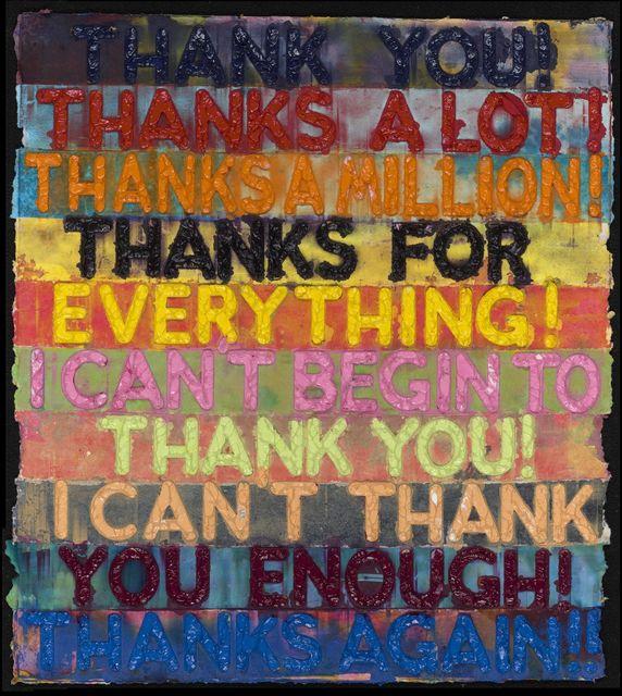 , 'Thank You,' 2018, David Benrimon Fine Art