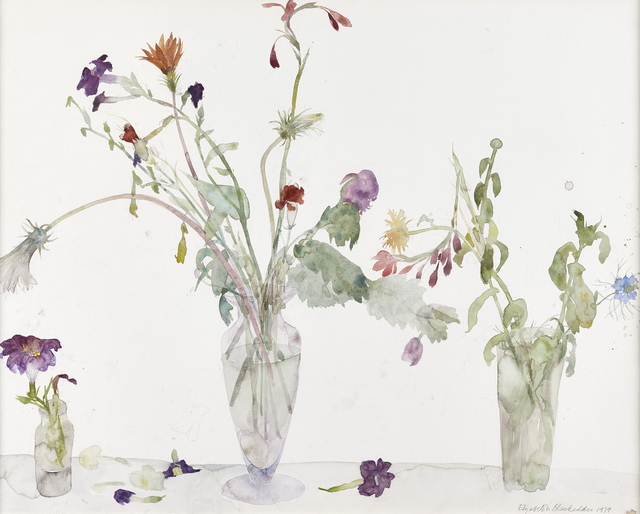 , 'Three Vases of Flowers,' 1979, The Scottish Gallery