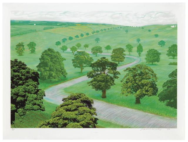 David Hockney, 'Green Valley', 2008, Christie's