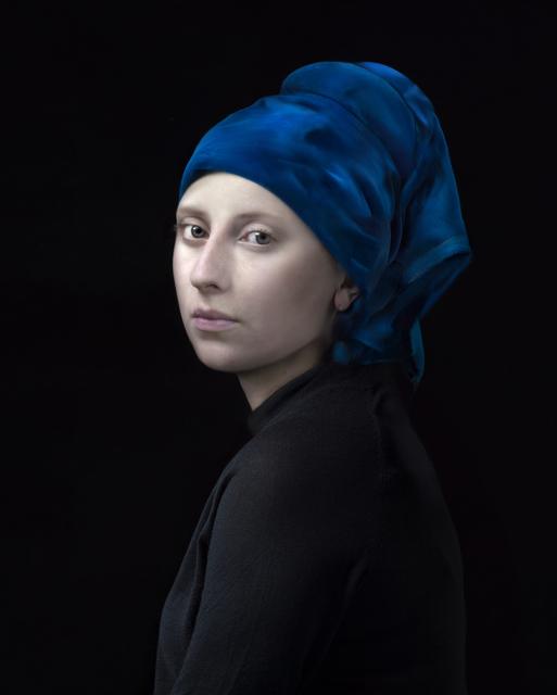 , 'Blue Turbin,' 2017, Flatland Gallery