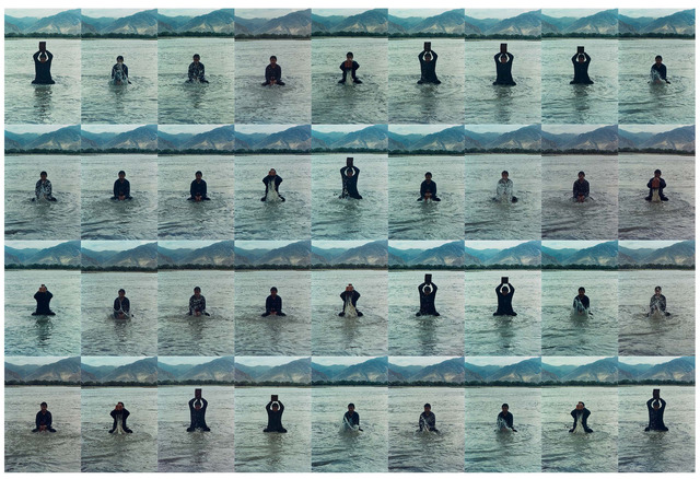 , 'Printing on Water (Performance in the Lhasa River, Tibet, 1996) 印水,' 1996, The Metropolitan Museum of Art