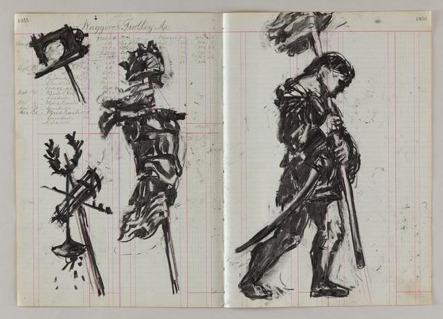 , 'Drawing for Triumphs & Laments (#24),' 2014, Lia Rumma