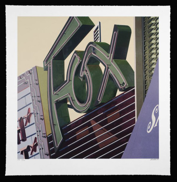 , 'Fox, from American Signs Portfolio,' 2009, IFAC Arts