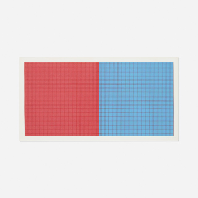 Sol LeWitt, 'Grids and Color (plate #17)', 1979, Rago/Wright