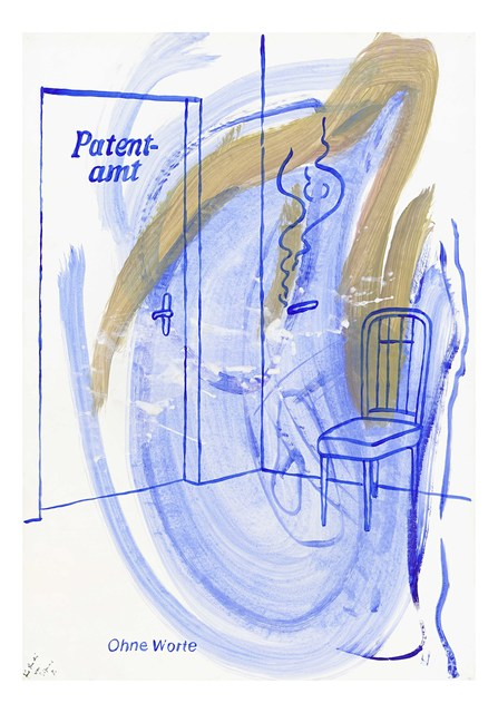 , 'Patentamt / Patent Office,' ca. 1983, Suzanne Tarasieve