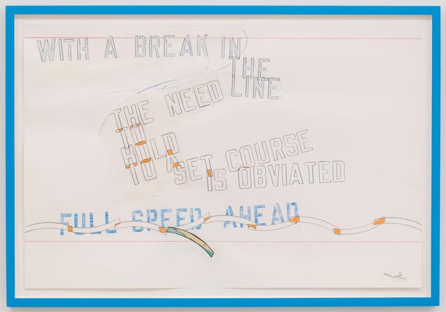 , 'FULLSPEED AHEAD,' 2015, Mai 36 Galerie